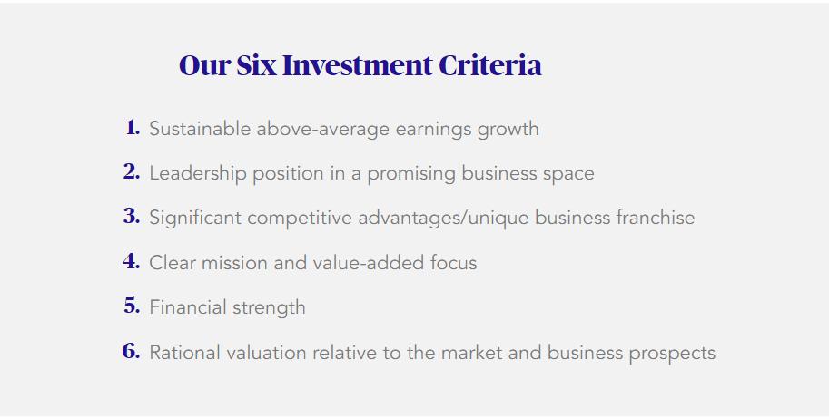 6 Criteria